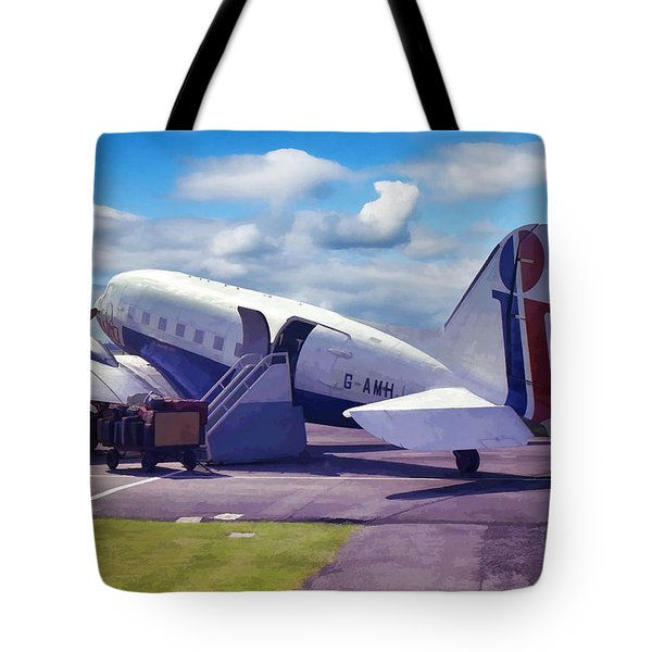 Douglas Dakota Dc3 Tote Bag