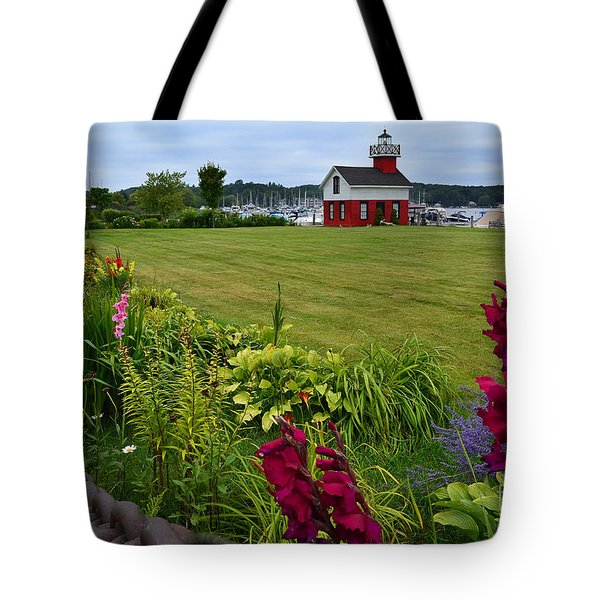 Douglas Lighthouse Water Tower Tote Bag