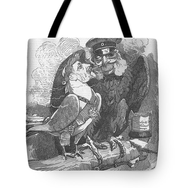 Dove Of Peace Editorial Art Tote Bag