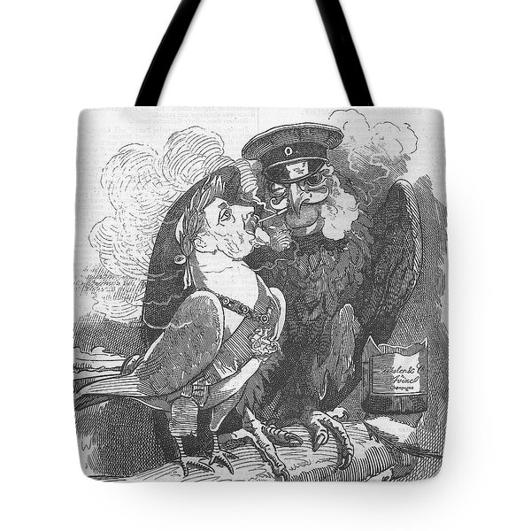Dove Of Peace Editorial Art Tote Bag
