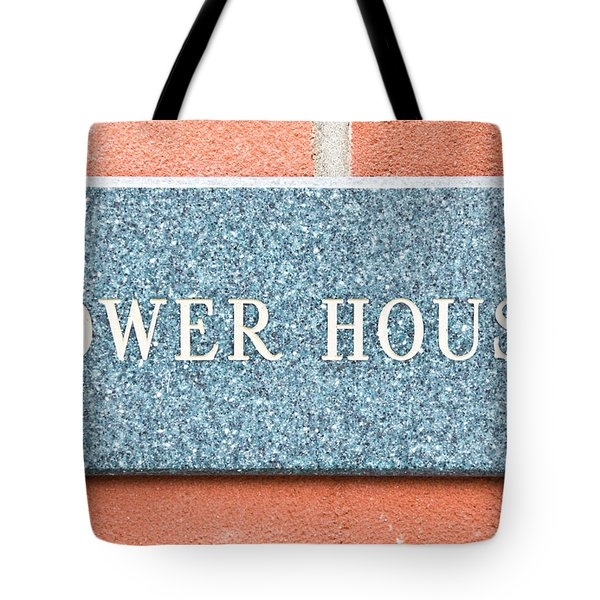 Dower House Tote Bag