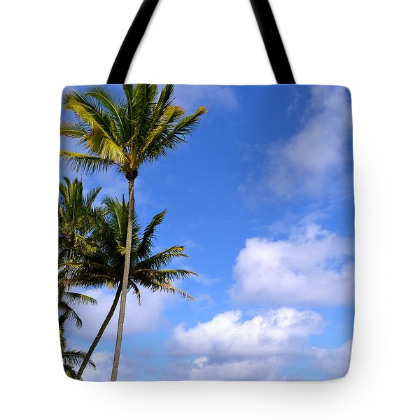 Down By The Ocean In Hawaii Tote Bag by Lehua Pekelo-Stearns