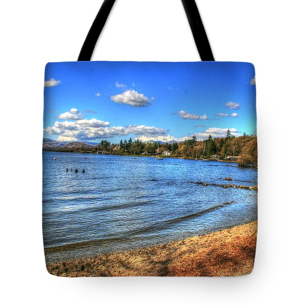 Tote Bag featuring the photograph Down By The Riverside by Doc Braham