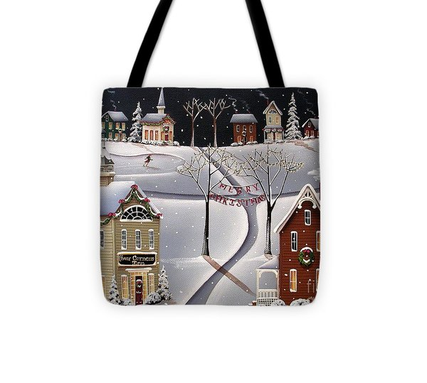 Down Home Christmas Tote Bag by Catherine Holman
