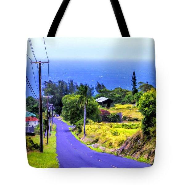 Down Into Honokaa Tote Bag