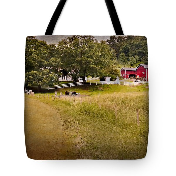 Down On The Farm Tote Bag by Bill Wakeley