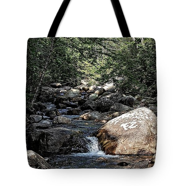 Down Stream Tote Bag