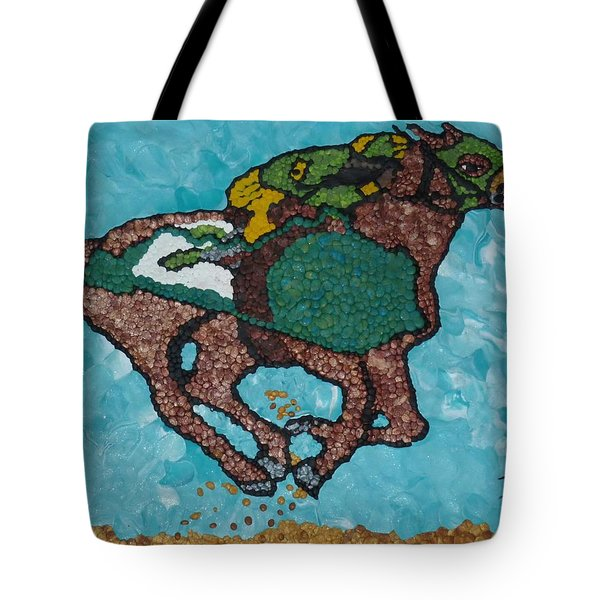 Down The Stretch Tote Bag