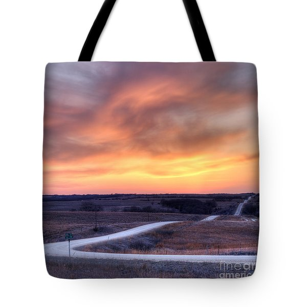 Down To The Rolling Hills Tote Bag