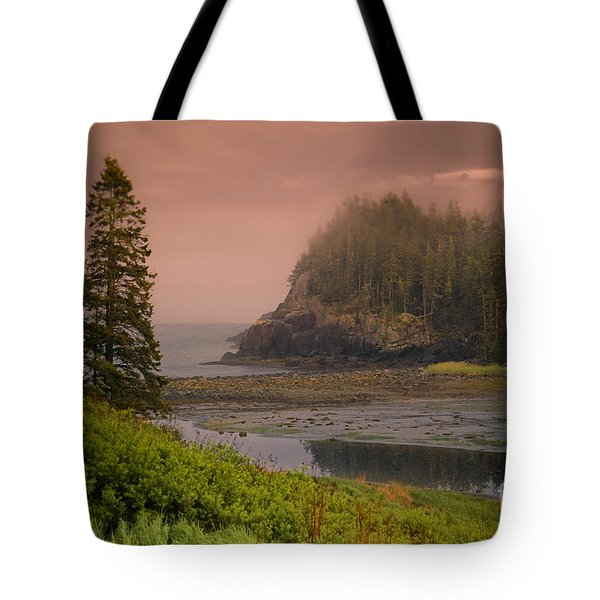 Downeast Coast Tote Bag by Alana Ranney