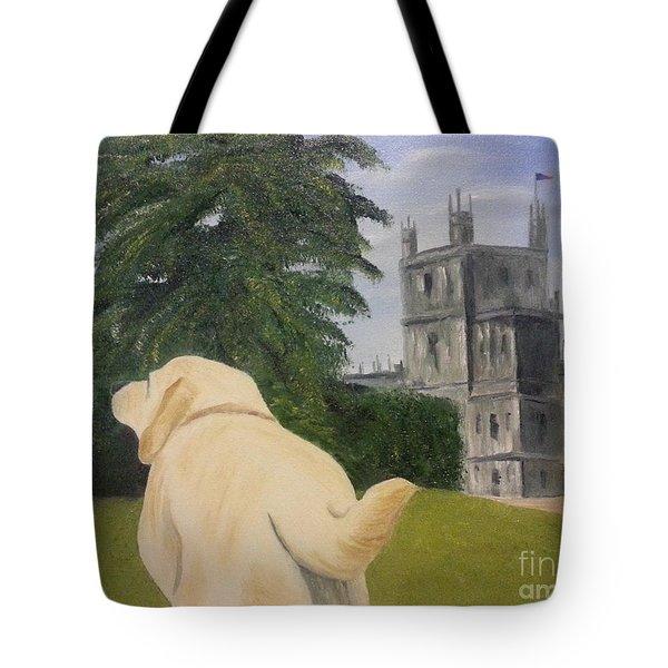 Downton Abbey Tote Bag by Bev Conover