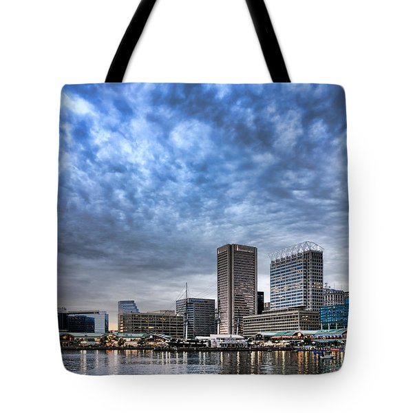 Downtown Baltimore Tote Bag