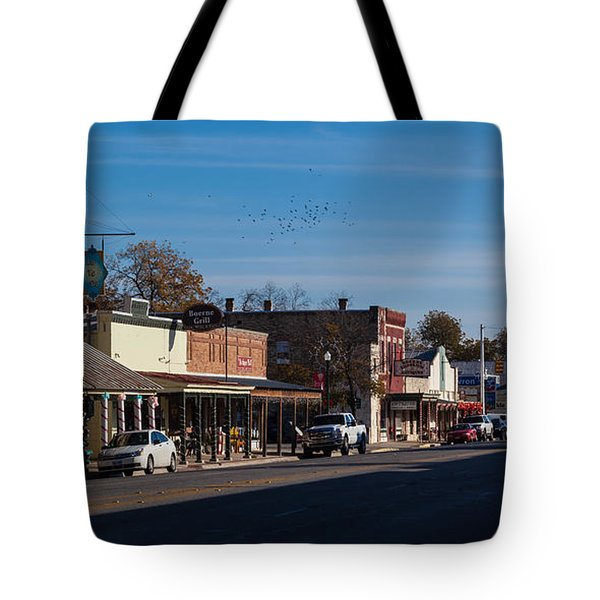 Downtown Boerne Tote Bag