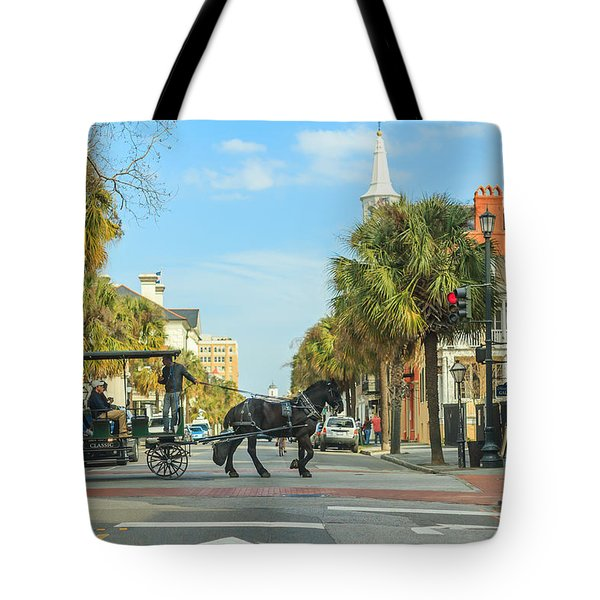 Downtown Charleston Stroll Tote Bag