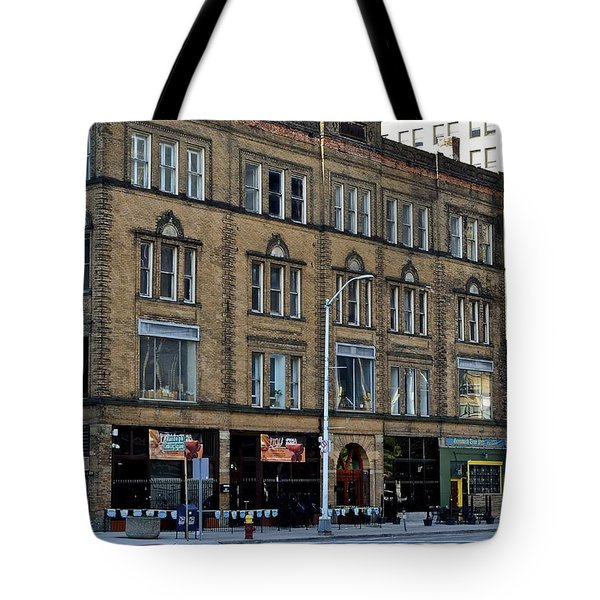 Downtown Detroit Tote Bag by Frozen in Time Fine Art Photography