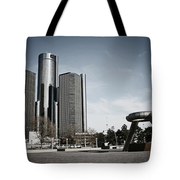 Downtown Detroit Tote Bag