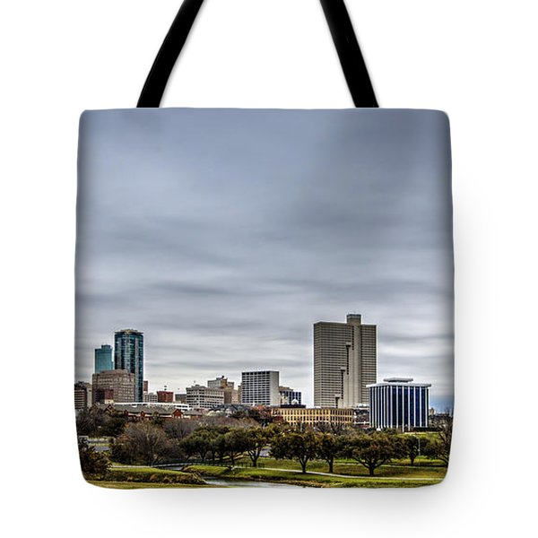 Downtown Fort Worth Trinity Trail Tote Bag