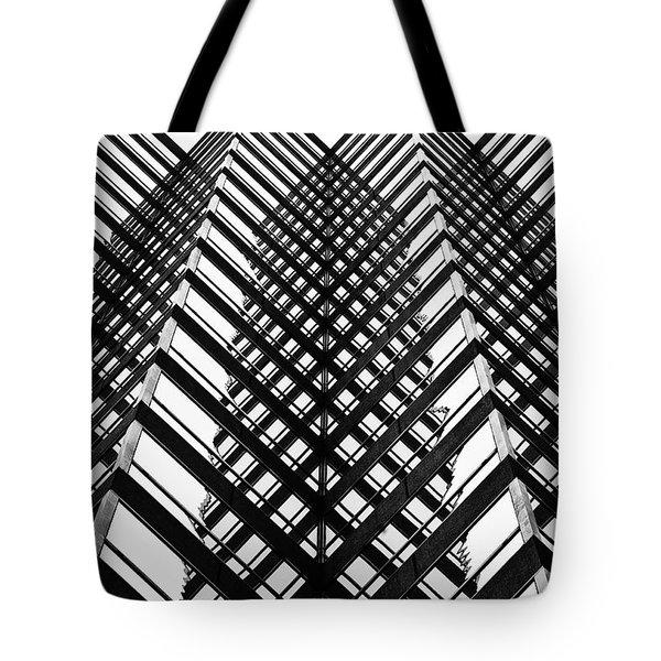 Downtown High Rise Tote Bag by Scott Pellegrin