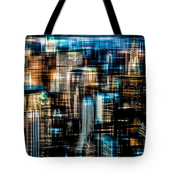 Downtown II - Dark Tote Bag