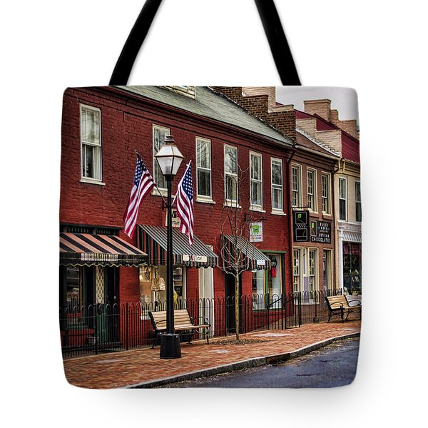 Downtown Jonesborough Tn Tote Bag