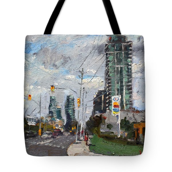 Downtown Mississauga On Tote Bag
