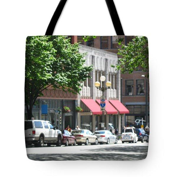 Downtown Neighborhood Tote Bag