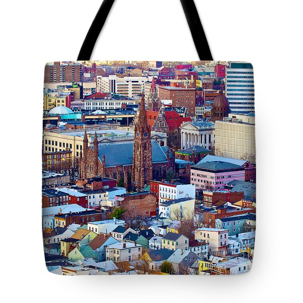Downtown Paterson Tote Bag