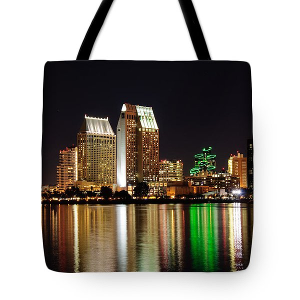 Downtown San Diego Tote Bag