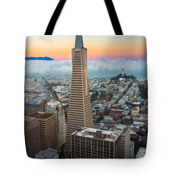 San Francisco Fog Tote Bag