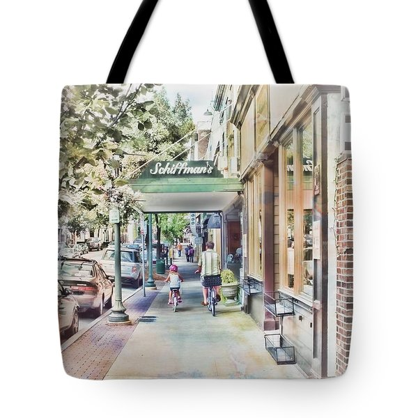 Downtown Sunday Tote Bag