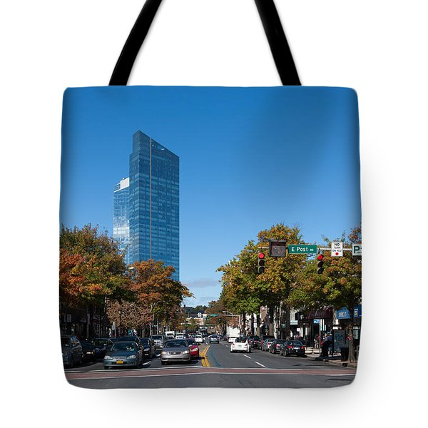 Downtown White Plains New York IIi Tote Bag