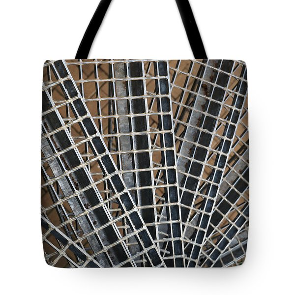 Tote Bag featuring the photograph Downward Spiral by Wendy Wilton