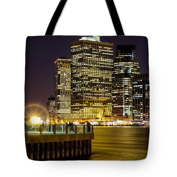 Downtown Lights Tote Bag