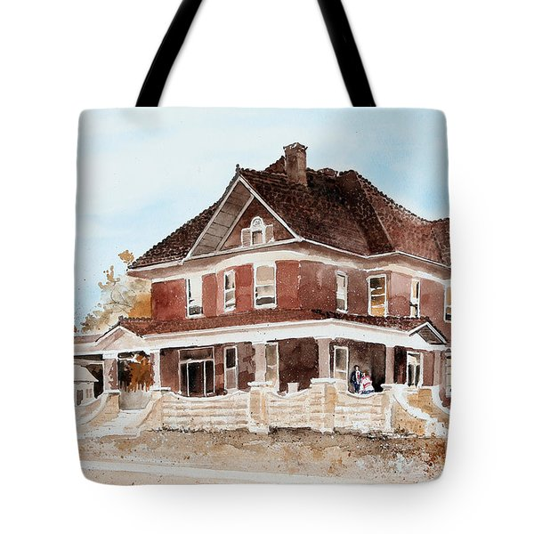 Dr. Hall Residence Tote Bag