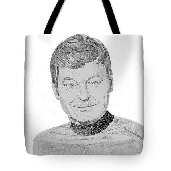Dr. Leonard Mccoy Tote Bag