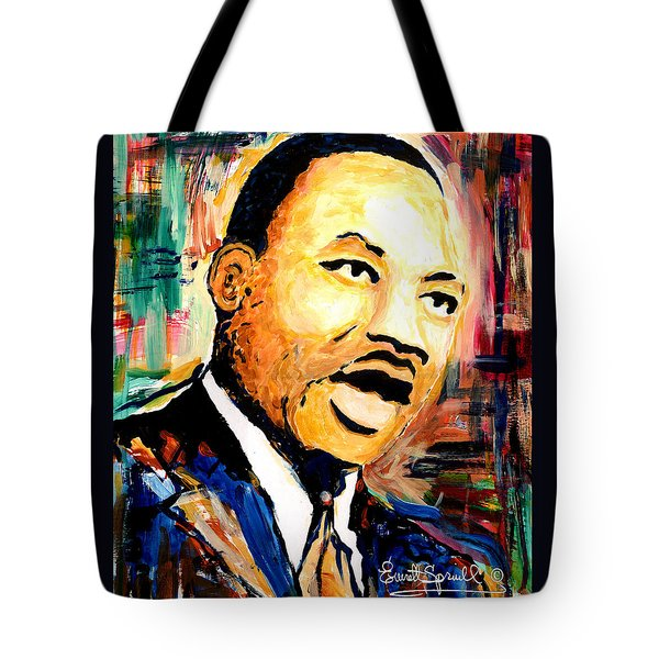 Dr. Martin Luther King Jr Tote Bag
