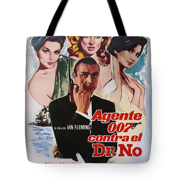 Dr No - Spanish Tote Bag by Georgia Fowler