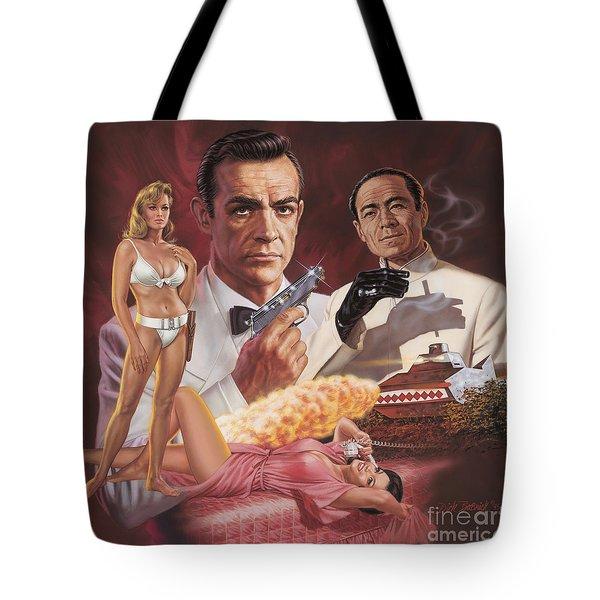 Dr. No Tote Bag