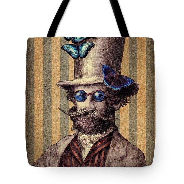 Dr. Popinjay Tote Bag