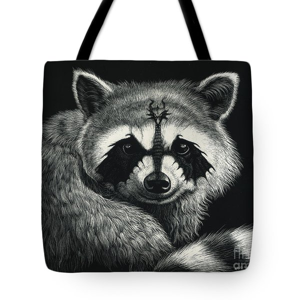 Draccoon Tote Bag