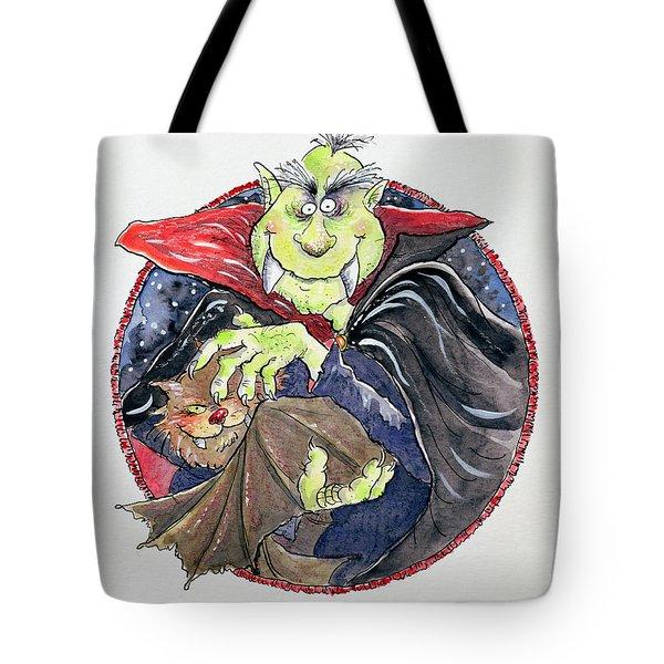 Dracula Tote Bag by Maylee Christie