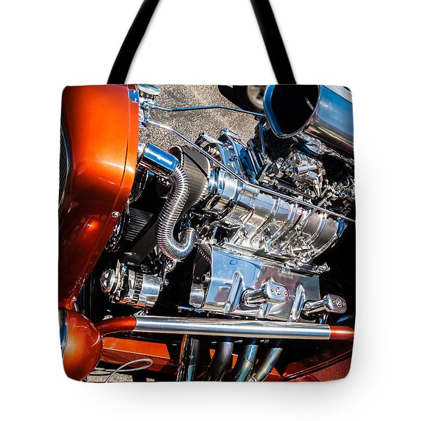 Drag Queen - Hot Rod Blown Chrome  Tote Bag