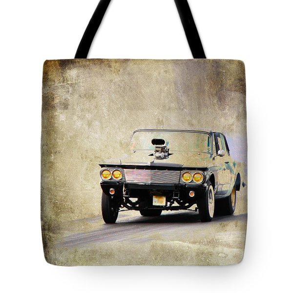 Drag Time Tote Bag by Steve McKinzie