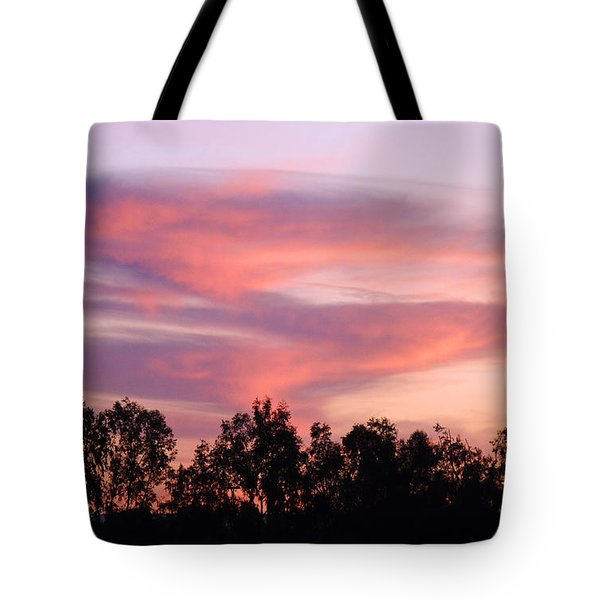 Tote Bag featuring the photograph Dragon Clouds by Meghan at FireBonnet Art