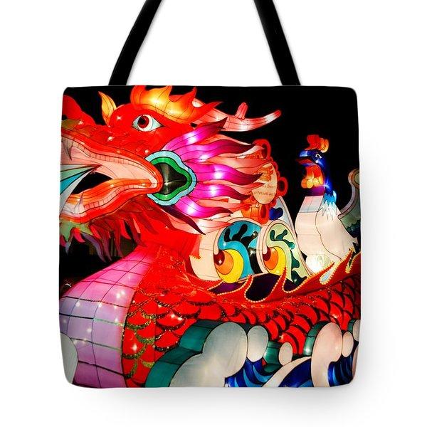 Dragon Float Tote Bag