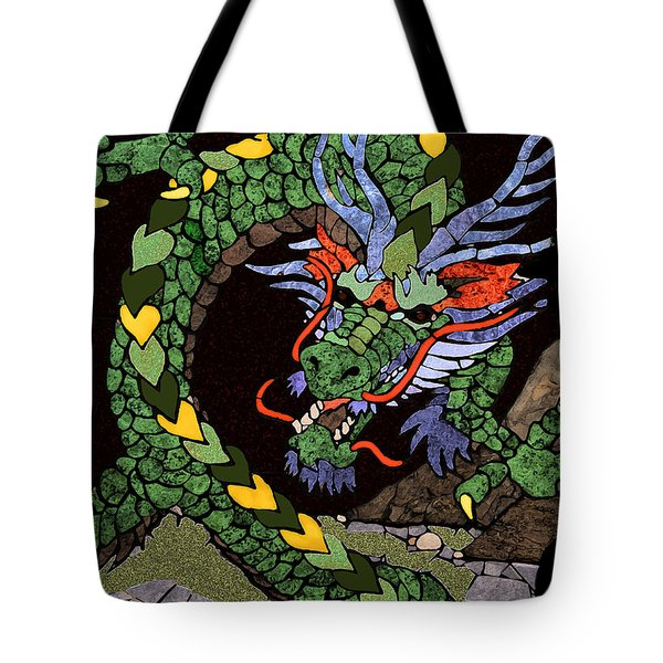 Dragon - Incognito Tote Bag by Kathy Bassett
