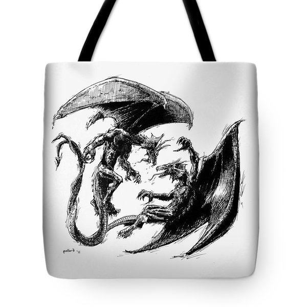 Dragon Love Tote Bag
