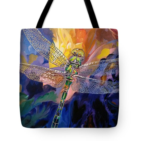 Dragon Summer Tote Bag