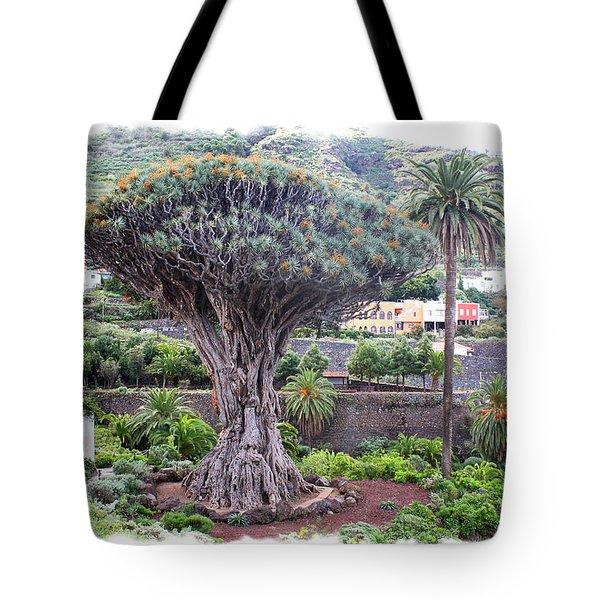 Dragon Tree Tote Bag by Ha Ko
