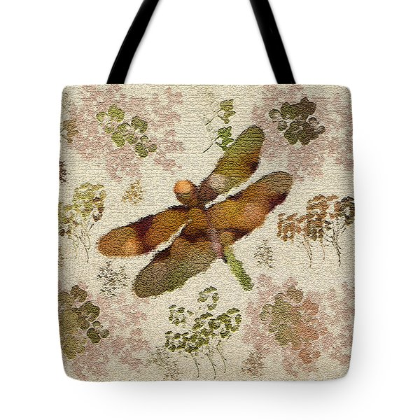 Dragonfly Away Tote Bag